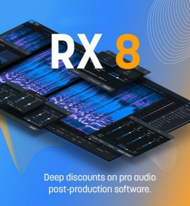 iZotope - RX 8 Audio Editor Advanced 8.1.0.544 STANDALONE, VST, VST3, AAX RePack by R2R [En]